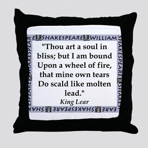 Thou Art A Soul In Bliss Throw Pillow
