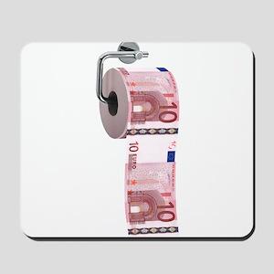 Euro Toilet Paper Mousepad