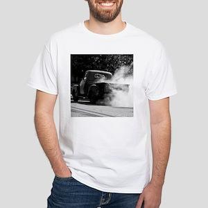Smokin Truck White T-Shirt