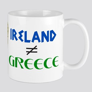 Ireland is Not Greece Mug