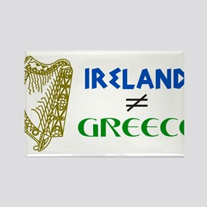 Ireland is Not Greece Rectangle Magnet
