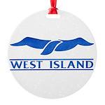 West Island Classic Logo Round Ornament