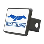 West Island Classic Logo Rectangular Hitch Cover