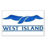 West Island Classic Logo Sticker