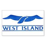 West Island Classic Logo Sticker