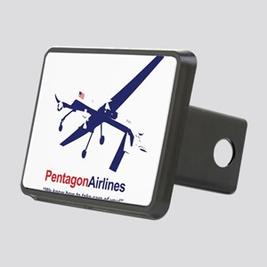 Pentagon Airlines Rectangular Hitch Cover
