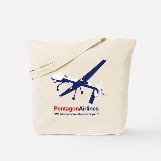 Pentagon Airlines Tote Bag