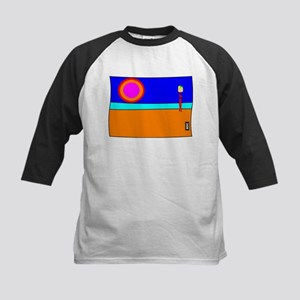 Sunset Fruit Seller Kids Baseball Jersey