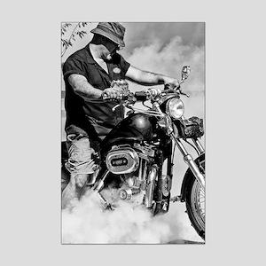 Hell Rider Mini Poster Print