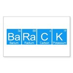 BaRaCK Sticker (Rectangle 10 pk)