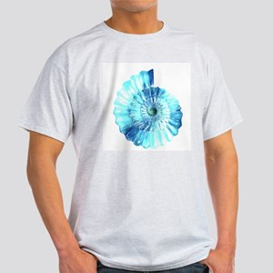 Blue Ammonite Ash Grey T-Shirt