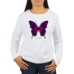 Deep Butterfly Women's Long Sleeve T-Shirt