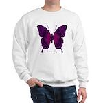 Deep Butterfly Sweatshirt