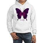 Deep Butterfly Hooded Sweatshirt