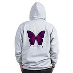 Deep Butterfly B Zip Hoodie