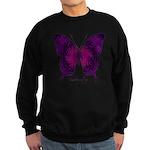 Deep Butterfly Sweatshirt (dark)