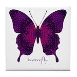 Deep Butterfly Tile Coaster