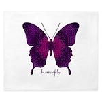 Deep Butterfly King Duvet