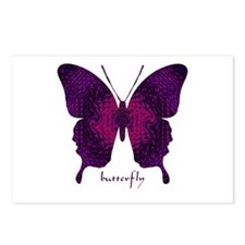 Deep Butterfly Postcards (Package of 8)
