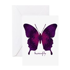 Deep Butterfly Greeting Card