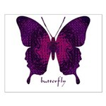 Deep Butterfly Small Poster