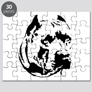 rocky cut out Puzzle