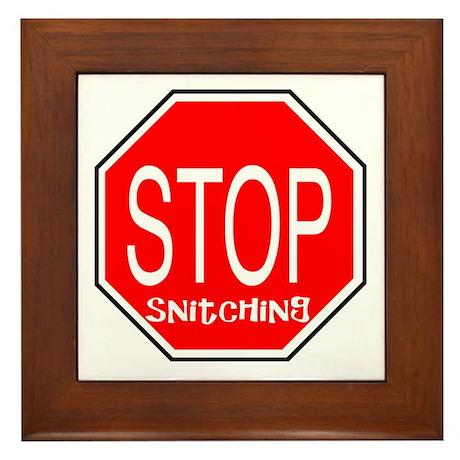stop snitchin essay