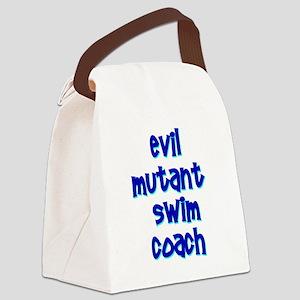 Evil Mutant Swim Coach Canvas Lunch Bag