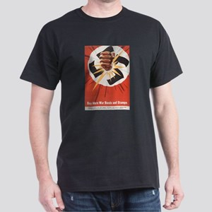 WWII POSTER BUY MORE WAR BONDS Black T-Shirt