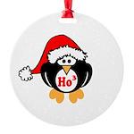 Ho Ho Ho Round Ornament