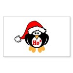 Ho Ho Ho Sticker (Rectangle 10 pk)