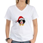 Ho Ho Ho Women's V-Neck T-Shirt