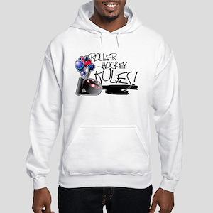 Roller Hockey Rules! Hooded Sweatshirt
