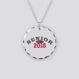 Senior Class of 2018 Necklace Circle Charm