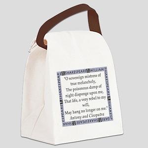 O Soveriegn Mistress Canvas Lunch Bag