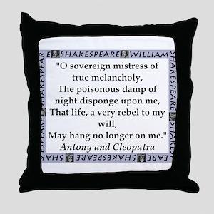 O Soveriegn Mistress Throw Pillow