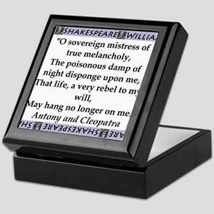 O Soveriegn Mistress Keepsake Box