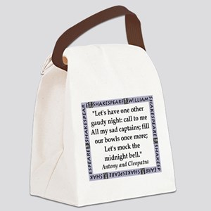 Lets Have One Other Gaudy Night Canvas Lunch Bag