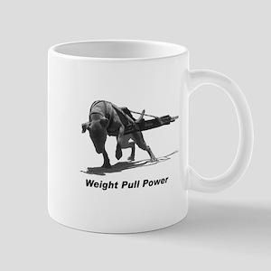 Pitbull Weight Pull Power Mug
