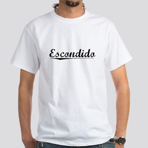Escondido, Vintage White T-Shirt