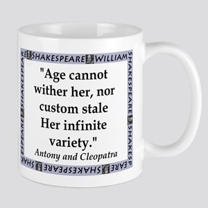 Age Cannot Wither Her Mugs