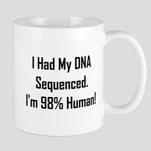 I'm 98% Human! Mug
