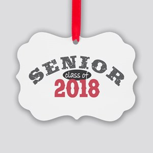 Senior Class of 2018 Picture Ornament