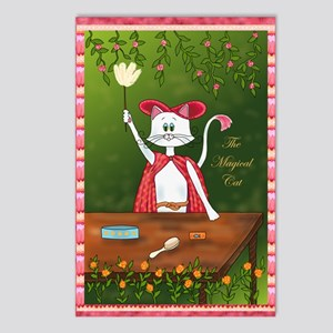 The Magical Cat Postcards (Package of 8)