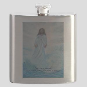 Jesus Walking On The Water Flask