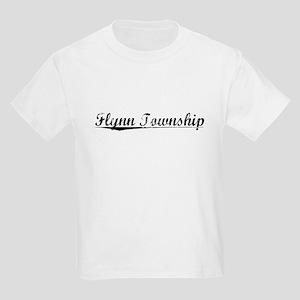 Flynn Township, Vintage Kids Light T-Shirt