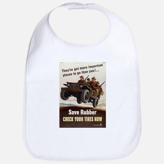 SAVE RUBBER Bib
