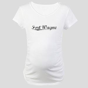 Fort Wayne, Vintage Maternity T-Shirt