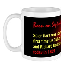 Mug: Solar flare was observed for the first time b