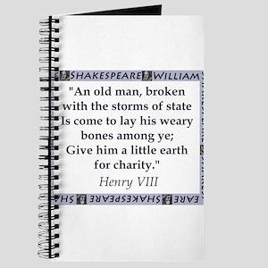 An Old Man, Broken Journal